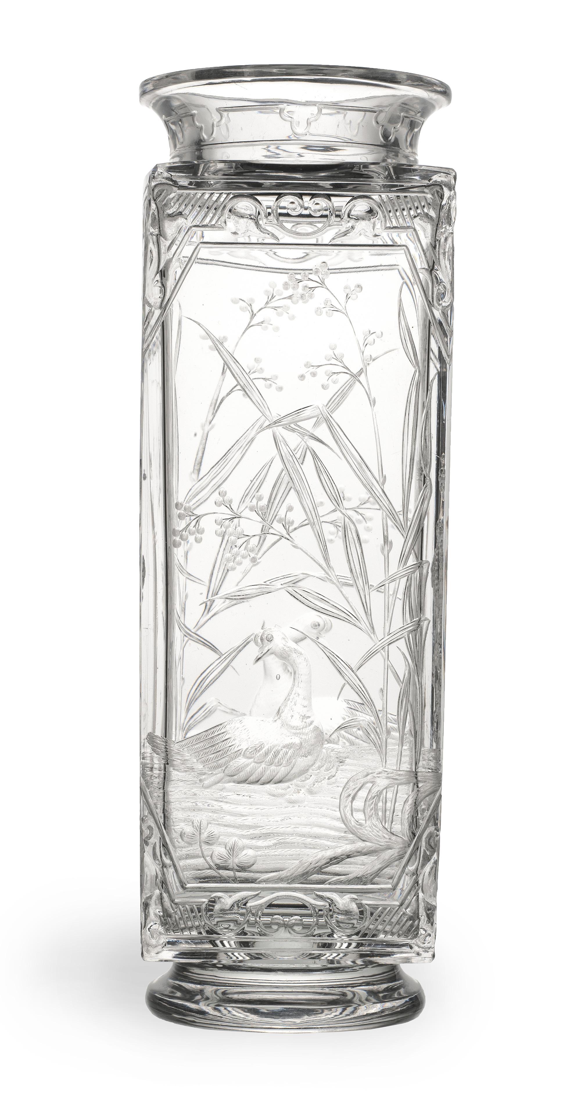 Jet Black Verre Cylindre VASE 18 cm 4 cm élevé à travers Art Floral Fleur Table Mariage
