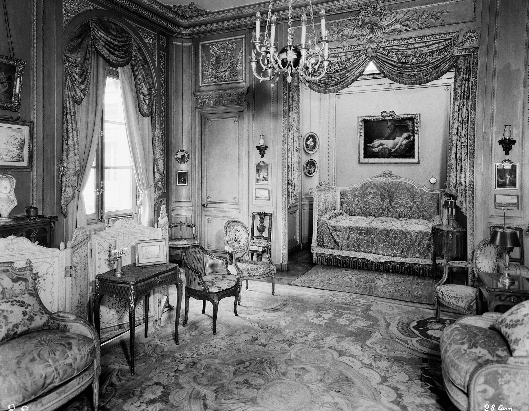 de la demeure au mus e photographies de l h tel particulier du comte mo se de camondo en 1936. Black Bedroom Furniture Sets. Home Design Ideas