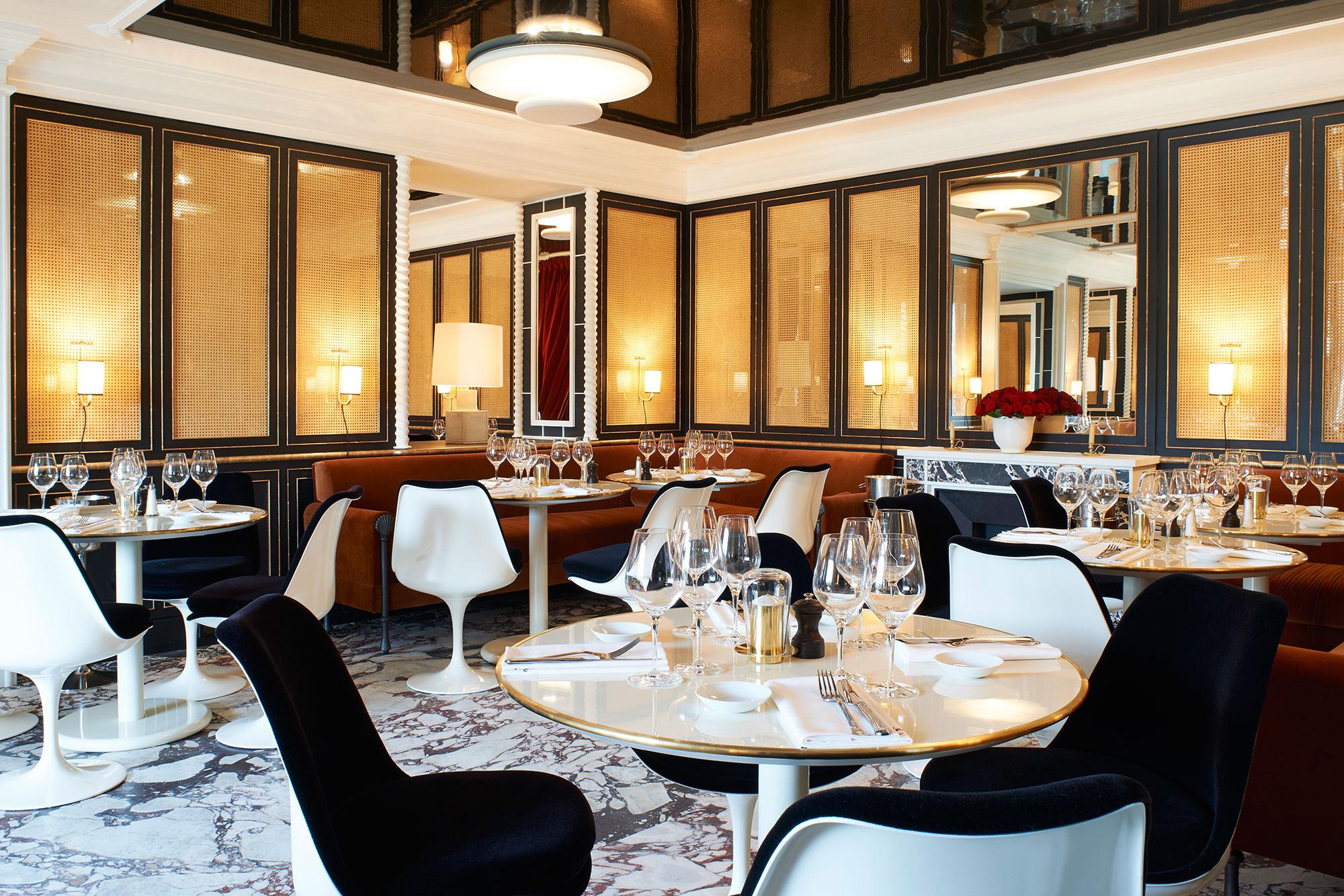 the restaurant. Black Bedroom Furniture Sets. Home Design Ideas
