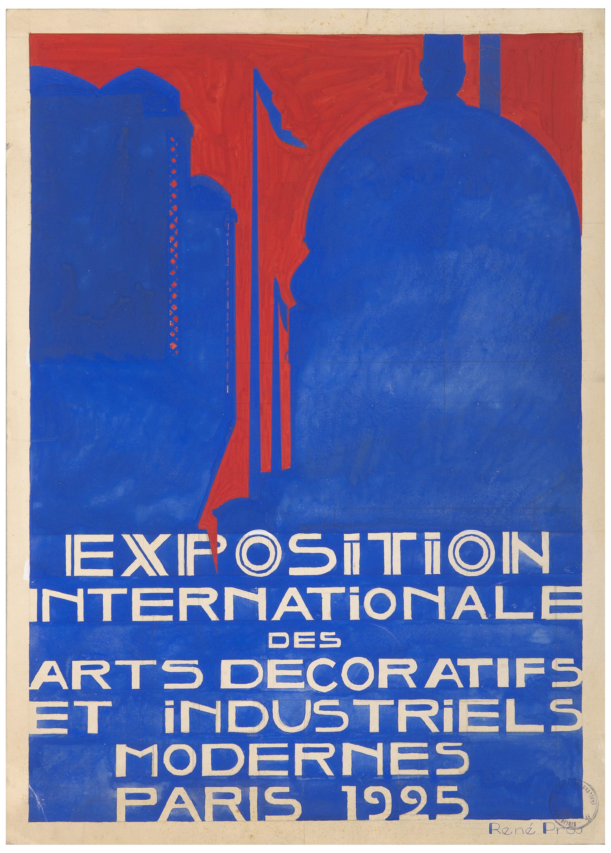 Quatre affiches pour annoncer l exposition - Les arts decoratifs paris ...