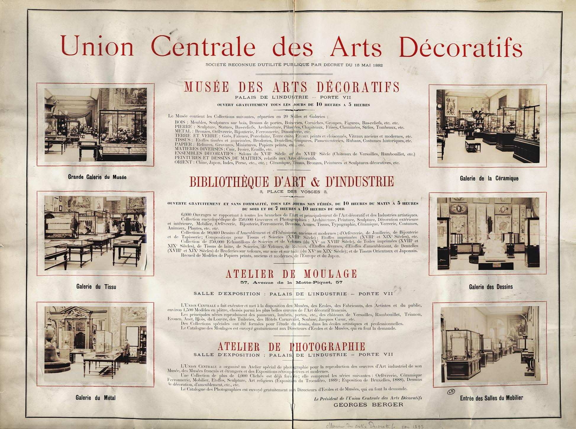 29 mai 1905 l inauguration du mus e des arts d coratifs au pavillon de marsan. Black Bedroom Furniture Sets. Home Design Ideas